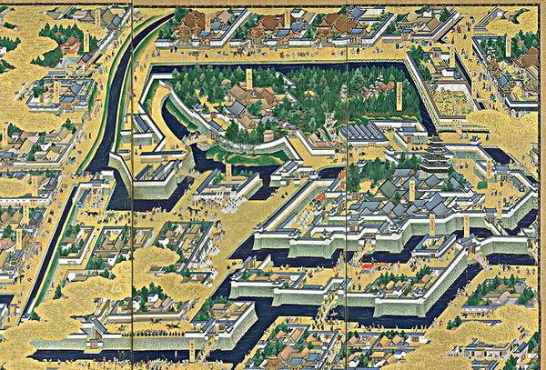 江戸城(ウィキペディアより)