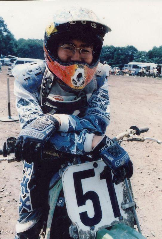 モトクロスの選手でもあり、ライディングの技術も高かった浩次さん