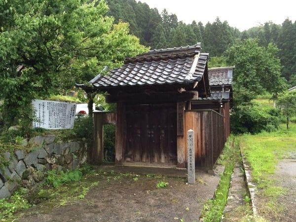 武田耕雲斎が加賀藩との話し合いを重ね降伏した敦賀・新保宿陣屋(筆者撮影)