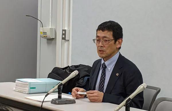 秋田真志弁護士(筆者撮影)