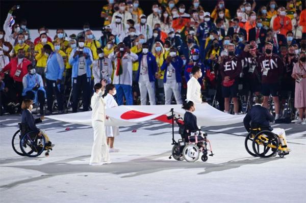 東京2020パラリンピック閉会式(写真:松尾/アフロスポーツ)