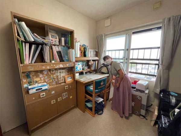 佐藤さんの家族が今も大切にしている『ひろの部屋』(筆者撮影)